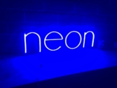 aviso en neonflex