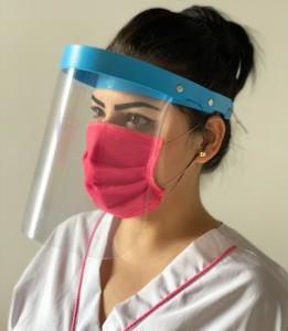 caretas transparentes personal de salud