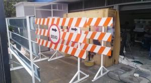 alquiler de vallas y señalizacion vial para cerramientos
