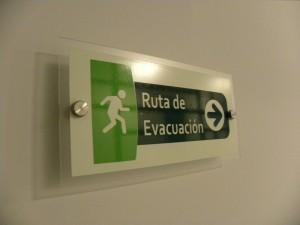 señal reglamentaria o de seguridad